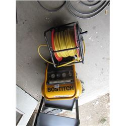 AIRTOOL COMPRESSOR WITH HOSE AND REEL