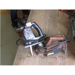 JIG SAW & eLECTRIC HAND PLANER
