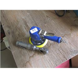 AIR TOOLS, DISC SANDER, CRESCENT WRENCH