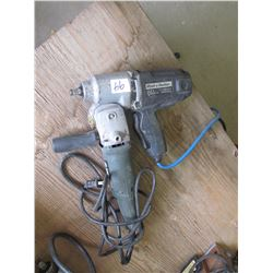 IMPACT WRENCH & SIDE GRINDER