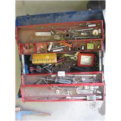 TOOL BOX W CONTENTS