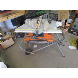 PORTABLE TABLE SAW, LIKE NEW