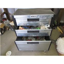 SHOP MASTER TOOL CHEST WITH CONTENTS