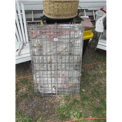 LARGE PORTABLE DOG KENNEL