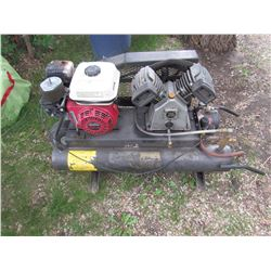 PORTABLE GAS POWERED COMPRESSOR