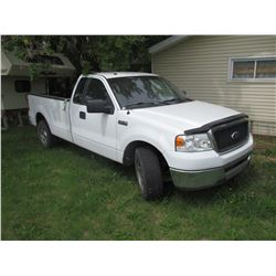 2008 FORD F150, 312615KM, EXCELLENT CONDITION VIN#1FTRF12W68KB61823 SK REG