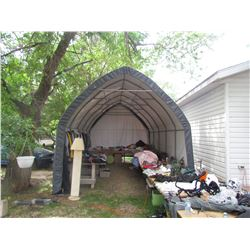 TARP GARAGE, LIKE NEW, 12WX20LX13H