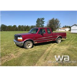 1994 FORD F150 XL E-CAB PICKUP