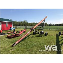 CO-OP 7 X 30 FT. AUGER & MOTOR