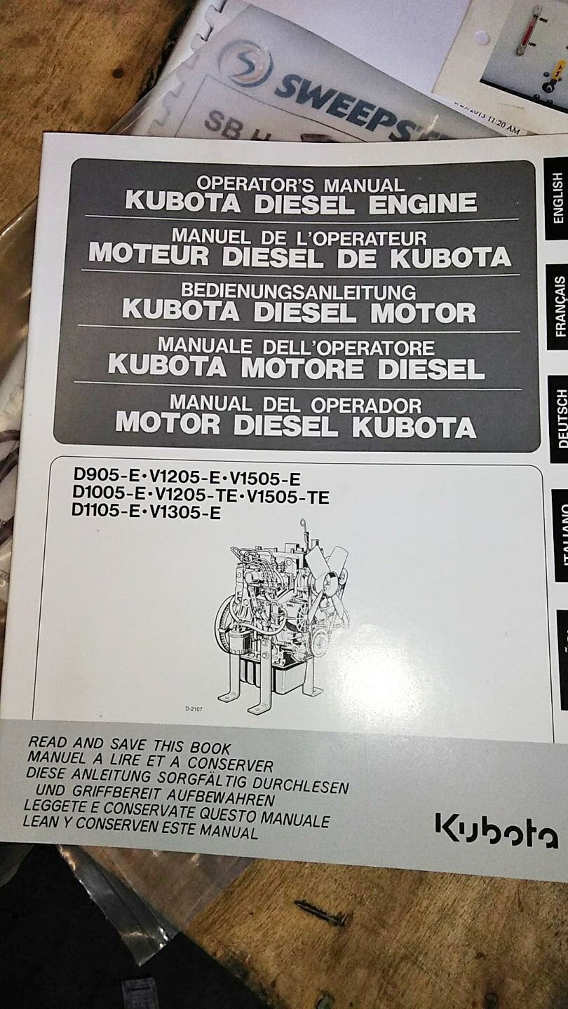 Vacuum Unit For Air Knifing Kubota Engine D1105 Wiring Diagram Image 3