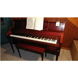 Kohler & Campbell Spinet Upright Piano and Bench