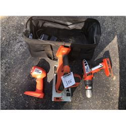 Black & Decker Rechargeable Drill, Saw, Light