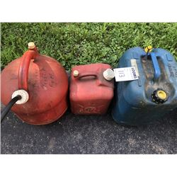 Gas Can Lot (3)