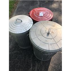 Garbage Cans (3)