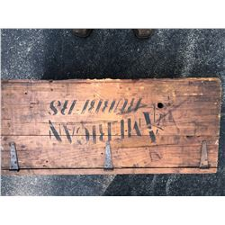 Antique Advertising Boxes