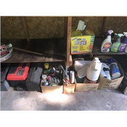 Misc. Cleaners / Paint / WD40 / Tool Boxes