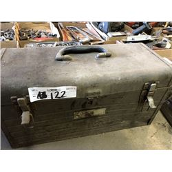 Toolbox Full of Forged Steel Wrenches