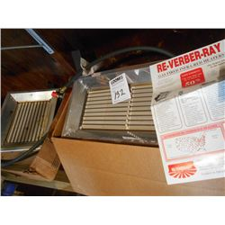 Re-Verber-Ray Gas Fired Infa-Red Heaters