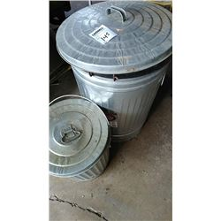 Garbage Cans Lot