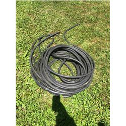 100 ft plus Rubber  hose 2 sections