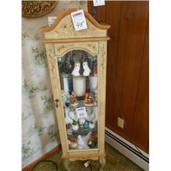Small China Cabinet / Contents NOT included