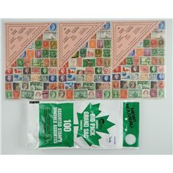 Lot of Canada Stamps
