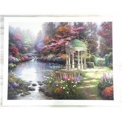 Thomas Kinkade 'Painter of Light' Litho - 'Garden