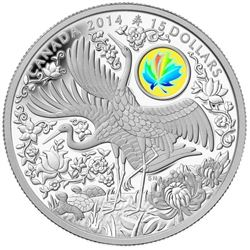 .9999 Fine Silver $15.00 Coin 'Maple of Longevity'