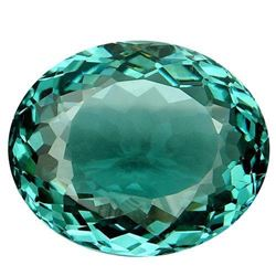 27.1ct. Sea Blue Aquamarine Oval