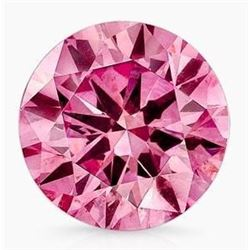 4ct Round Pink Brilliant Cut BIANCO Diamond