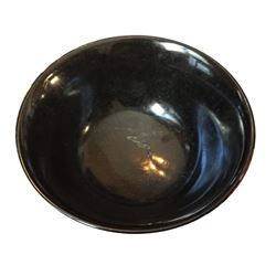 Carved Serpentine Ritual Bowl