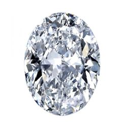 1.86ct Oval BIANCO Diamond