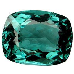 28.7ct. Sea Blue Aquamarine Cushion