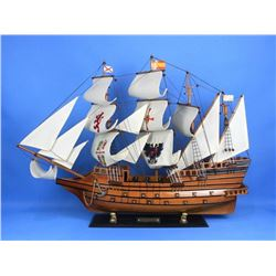 "Wooden Spanish Galleon Model 34"" Ship"