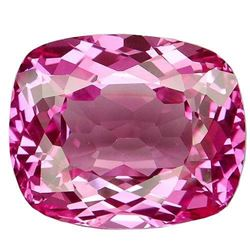 35.3ct. Pink Topaz Cushion