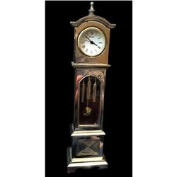 Miniature Longcase Grand-father Travel Clock