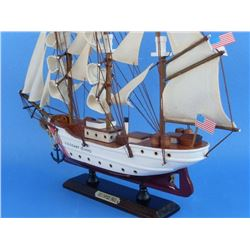 Wooden United States Coast Guard USCG Eagle Model Ship 15''