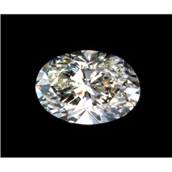 1.25ct Oval Brilliant Cut BIANCO Diamond