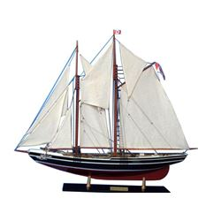 Wooden Bluenose 2 Limited Model Sailboat Decoration 35