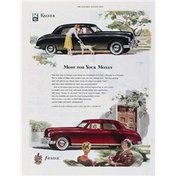 1948 Kaiser & Frazer Saturday Evening Post Ad
