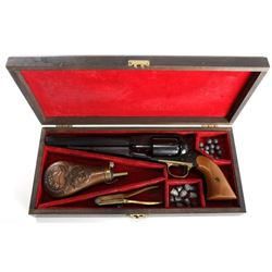 Cased Pietta 44 Cal Percussion Revolver