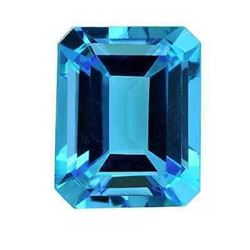 3.30ct Natural Swiss Blue Topaz Gemstone