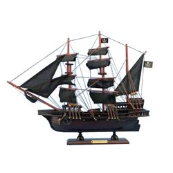 Wooden Calico Jack's The William Model Pirate Ship 14""