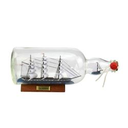 """USS Constitution Model Ship in a Glass Bottle 11"""""""