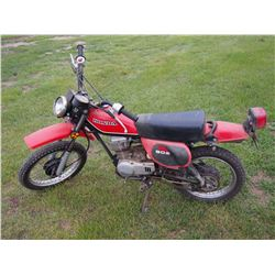 Honda XL80S Dirtbike