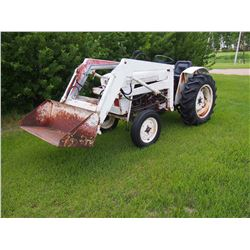 Satoh Tractor S650G W/ Loader, 3PTH, Gasoline, 2 Speed PTO (400 to 600) 25HP