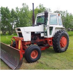 "1976 Case Agri King 1175 Tractor, 6707 Hrs, New Rear Tires, Duals Included,  No Air, 20.8""x38"" Rubbe"