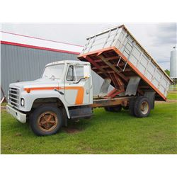 1979 International Truck 1700 Series, Steel 14' B&H, 404 Engine, 4x2Trans