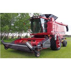 1996 Case International 2188 Axial Flow Combine, Reddicopp Chopper, 395 Melrow Pickup, New PTO, 3604