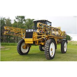 1998 RoGator 854, 90' High Clearance Sprayer, Auto Steer, Auto Rate, Auto Boom Control, Stainless St